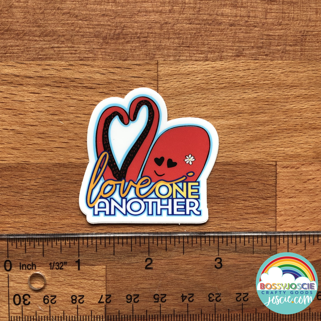 Image of Love One Another Sticker