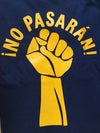 No Pasarán! t-shirt in Navy and Yellow colourways