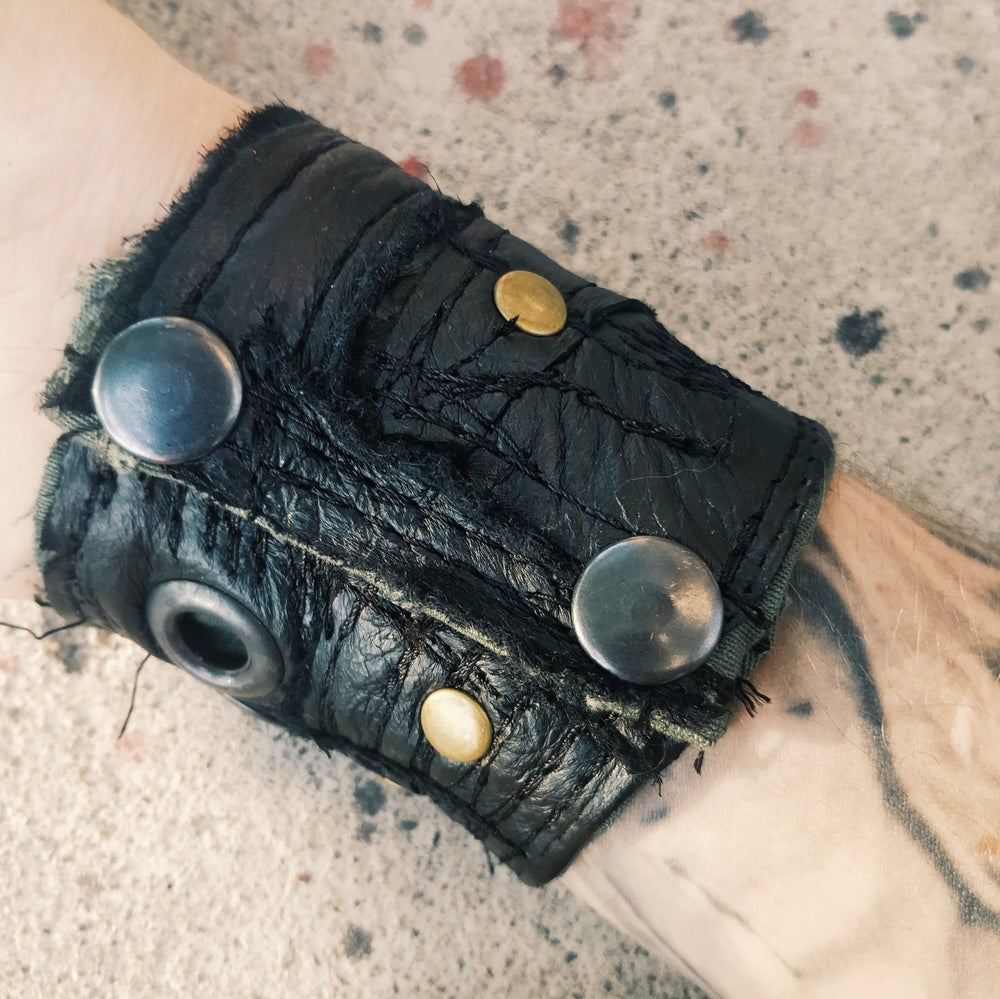 Image of Leather cuff