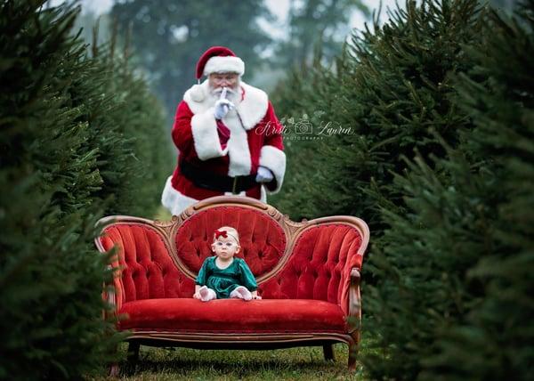 Image of Meet Santa at the Tree Farm!