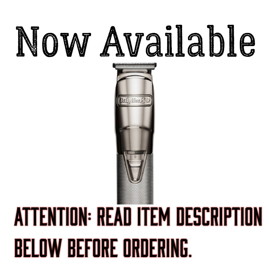 Image of Babyliss Silver FX Trimmer W/Modified Blade (Delivery Info Below)
