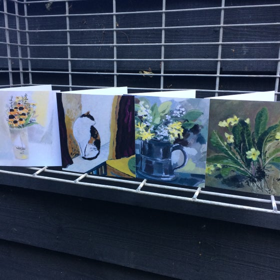 Image of Greetings cards, pack of four