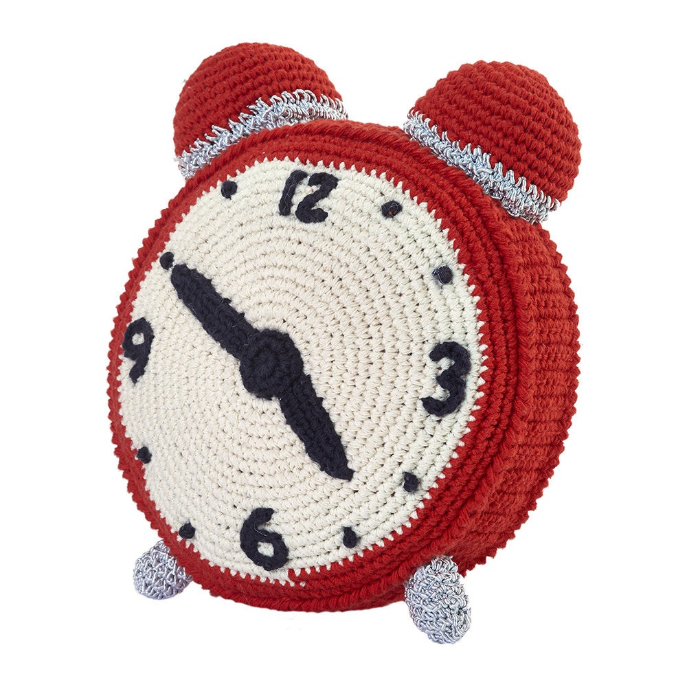 Image of Anne-Claire Petit Crochet Clock Rattle