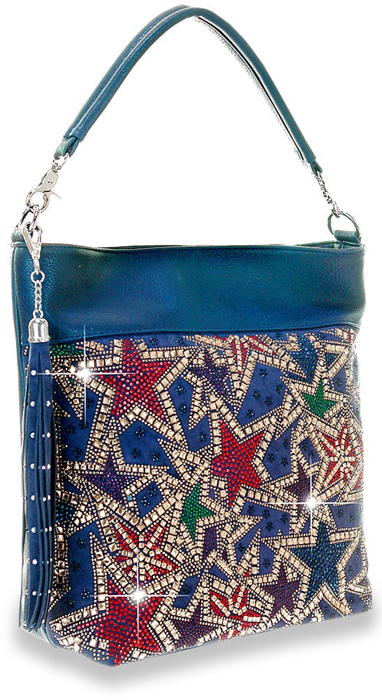 "Image of ""Sparkling"" Star Gazing Hobo Purse"