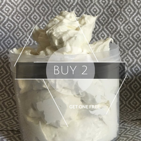 Image of Buy 2 Get one  FREE Jumbo Whipped Shea Butter