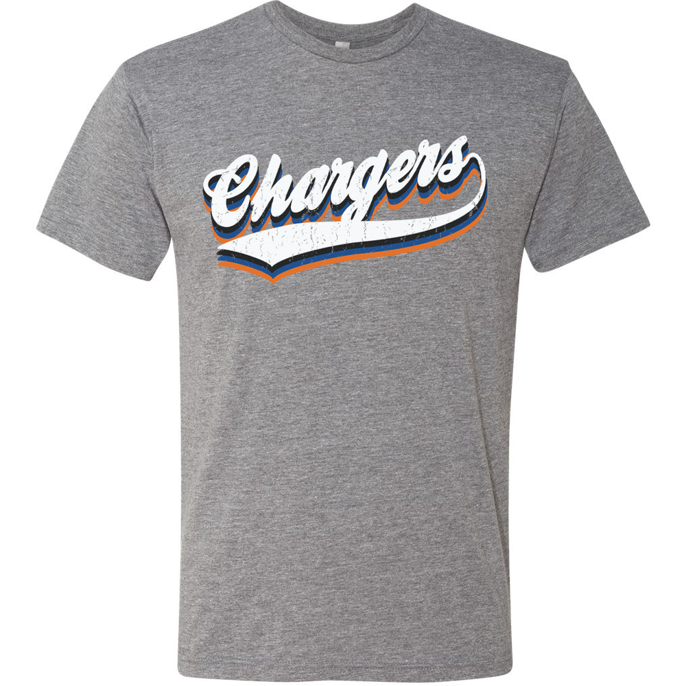 Image of DCS VINTAGE Mascot Tees - CHARGERS