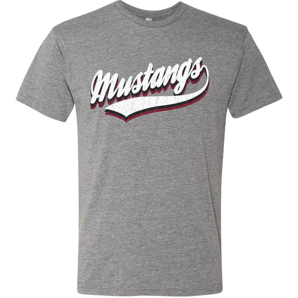 Image of DCS VINTAGE Mascot Tees - MUSTANGS