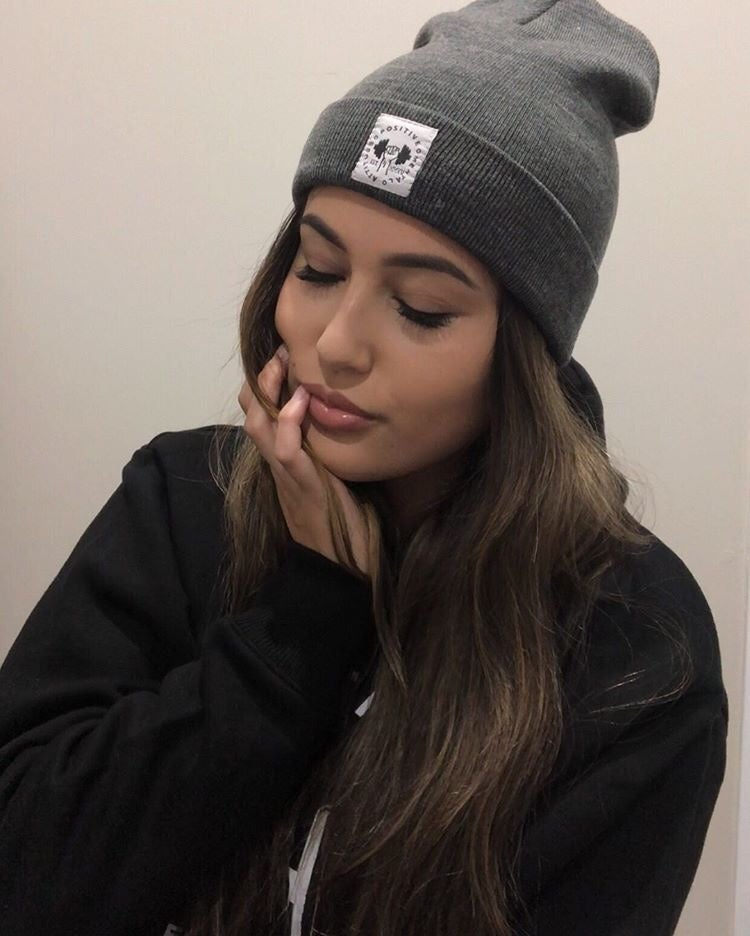 Image of Grey Hoodie and Beanie Combo