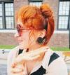 Leopard Statement Stud Earrings