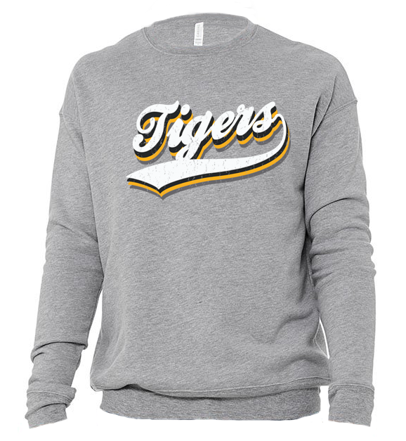Image of DCS VINTAGE Mascot SWEATSHIRT - TIGERS