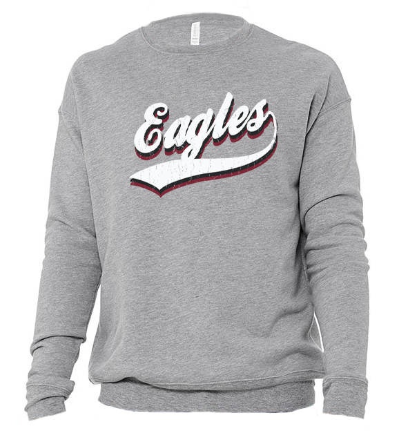 Image of DCS VINTAGE Mascot SWEATSHIRT - EAGLES