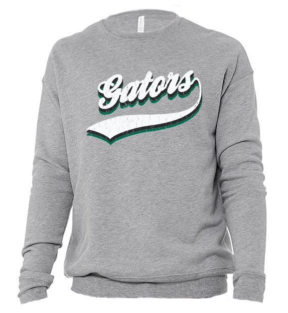 Image of DCS VINTAGE Mascot SWEATSHIRT - GATORS