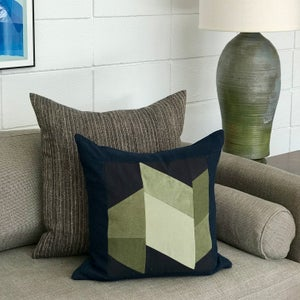 Image of GRAPHIC COLLAGE PILLOW #5