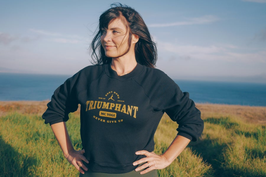 Image of Triumphant Women's Sweater in Black