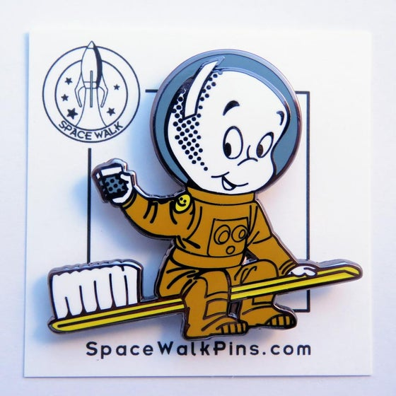 Image of Space Age Dentistry pin