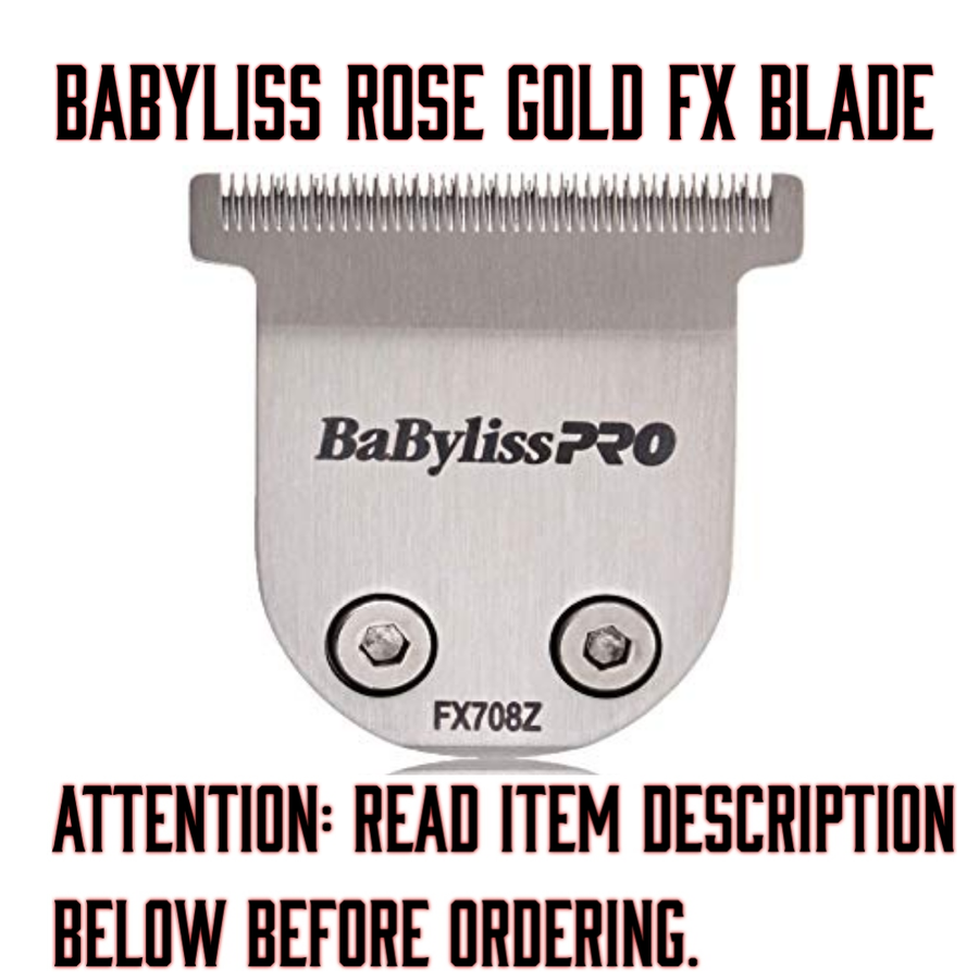 "Image of ""Modified"" Babyliss Rose Gold FX Blade (Delivery Info Below)"
