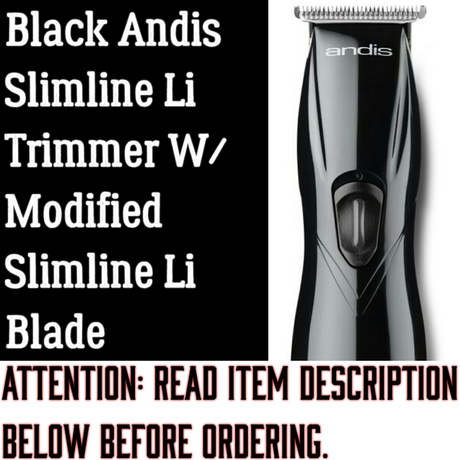 Image of (3 Week Delivery/High Order Volume) Black Slimline Pro Li Trimmer W/ Modified Slimline Blade