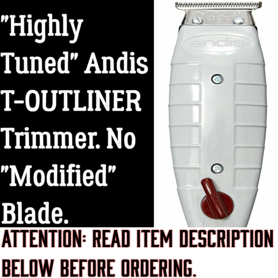 "Image of  (3 Week Delivery/High Order Volume) Andis T-Outliner Trimmer W/ No ""Modified"" Blade"