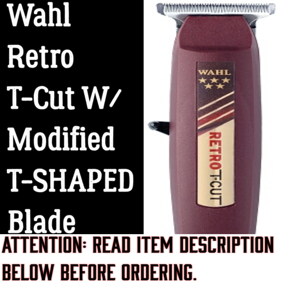 Image of (3 Week Delivery/High Order Volume) Wahl Retro T-Cut W/Wahl T-SHAPED Blade
