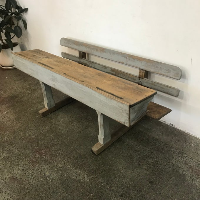 Image of REFURBISHED VINTAGE KIDS DESK