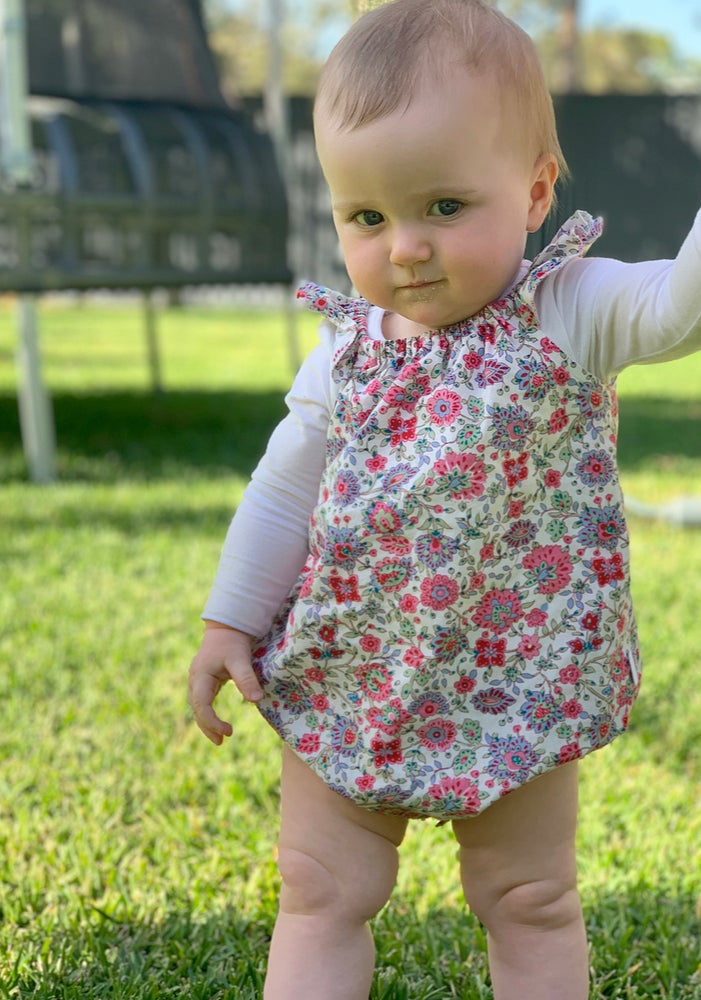 Image of Lucy floral romper