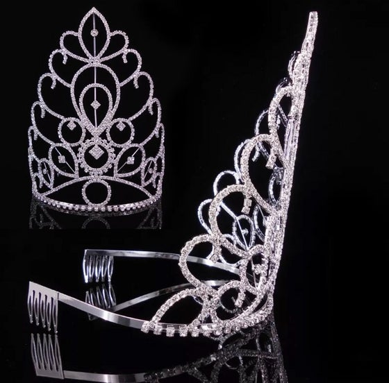 Image of Entry Fee + Sash + Extra Tall Opulent Tiara