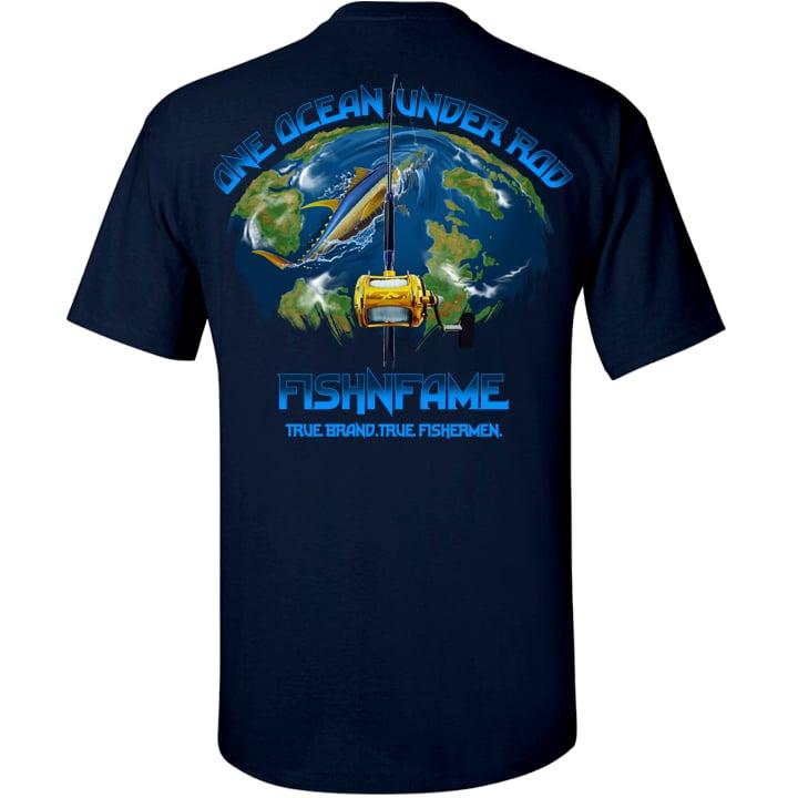 Image of One Ocean Tee (navy)