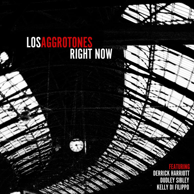 Image of Los Aggrotones 'Right Now' CD (Pre-order)