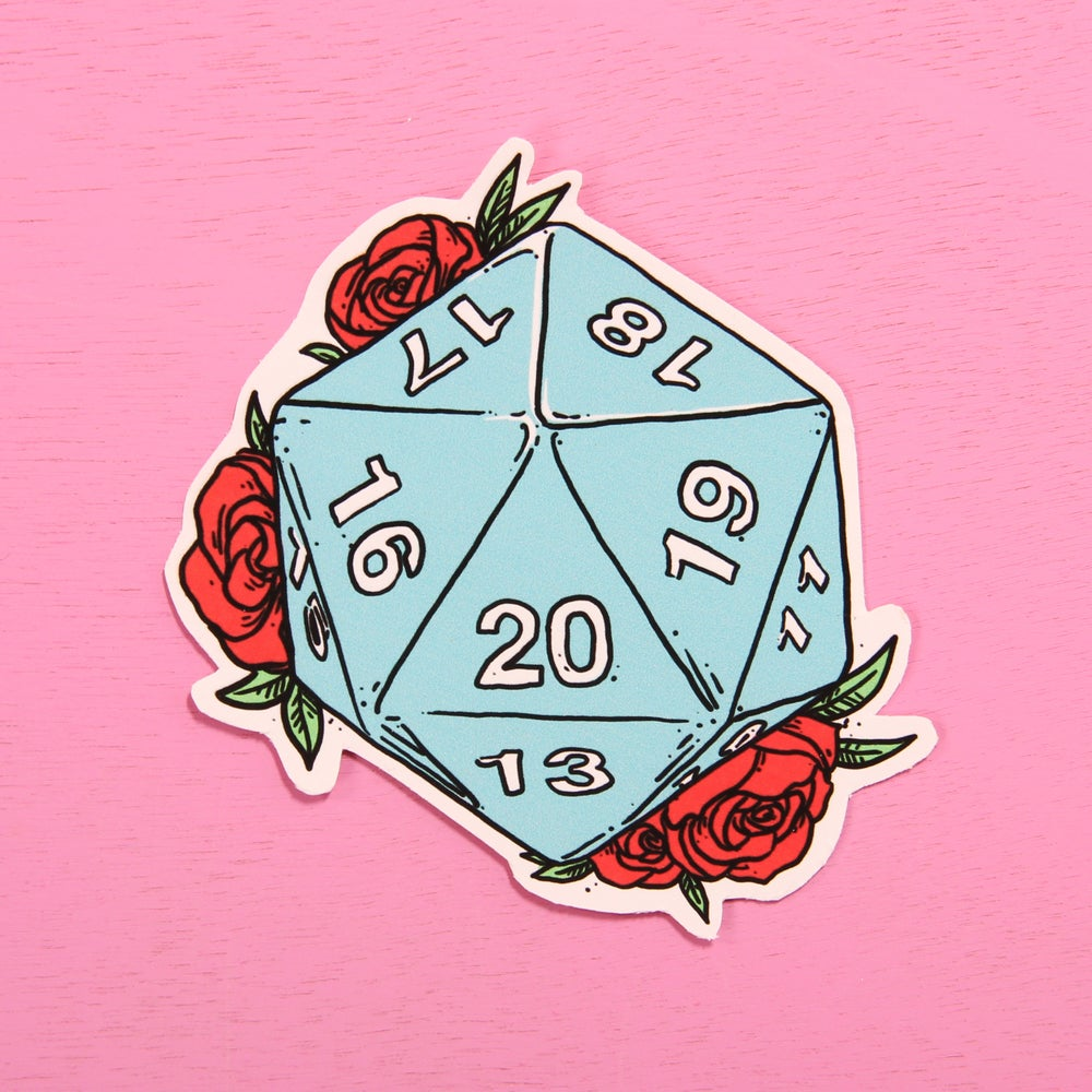Image of D20 Stickers