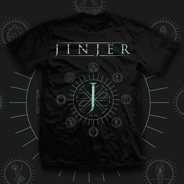 Image of JINJER - Jeometry - TEE *PRE-ORDER*