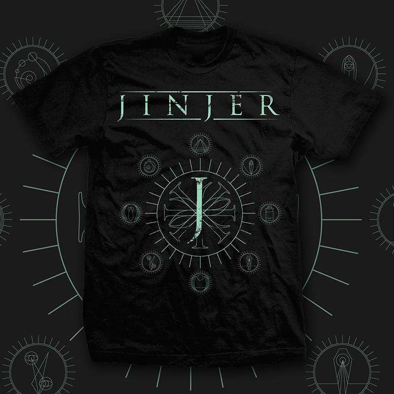 Image of JINJER - Jeometry - TEE