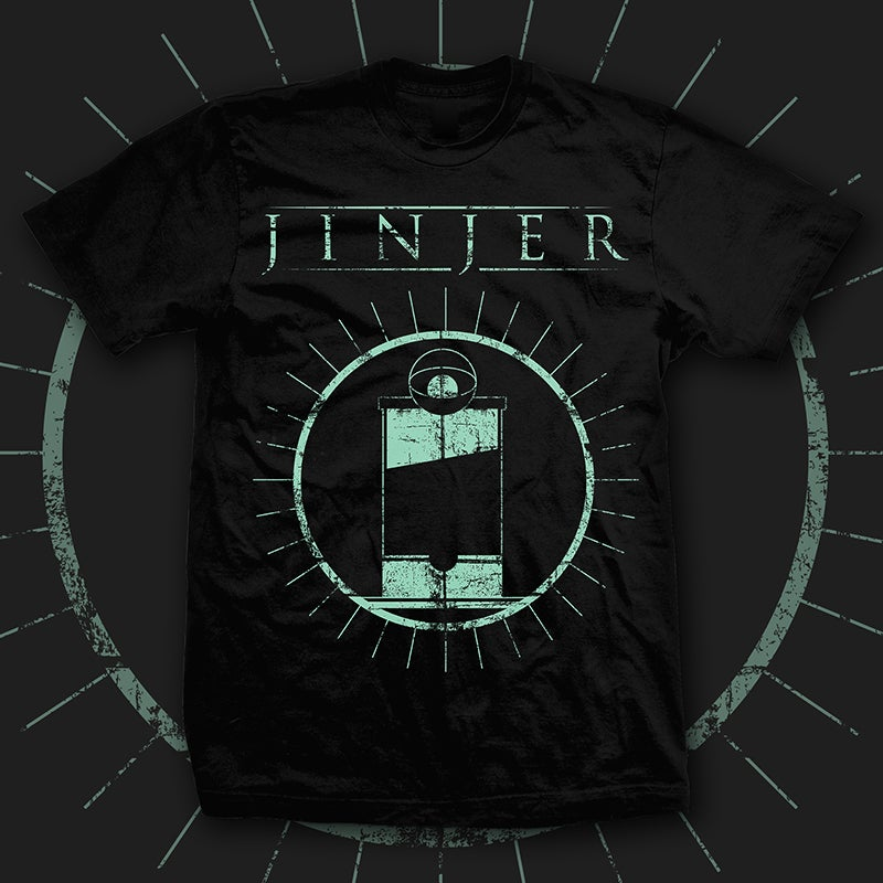 Image of JINJER - Judgement (& Punishment) - TEE *PRE-ORDER*