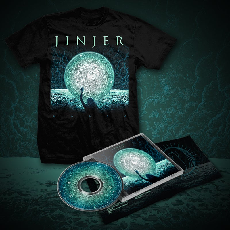 Image of JINJER - Macro - CD Bundle ONE (2019) *PRE-ORDER*