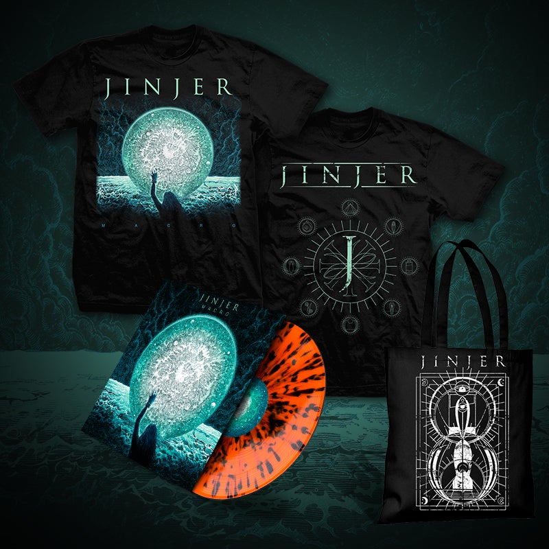 Image of JINJER - Macro - LP Bundle THREE (2019) *PRE-ORDER*