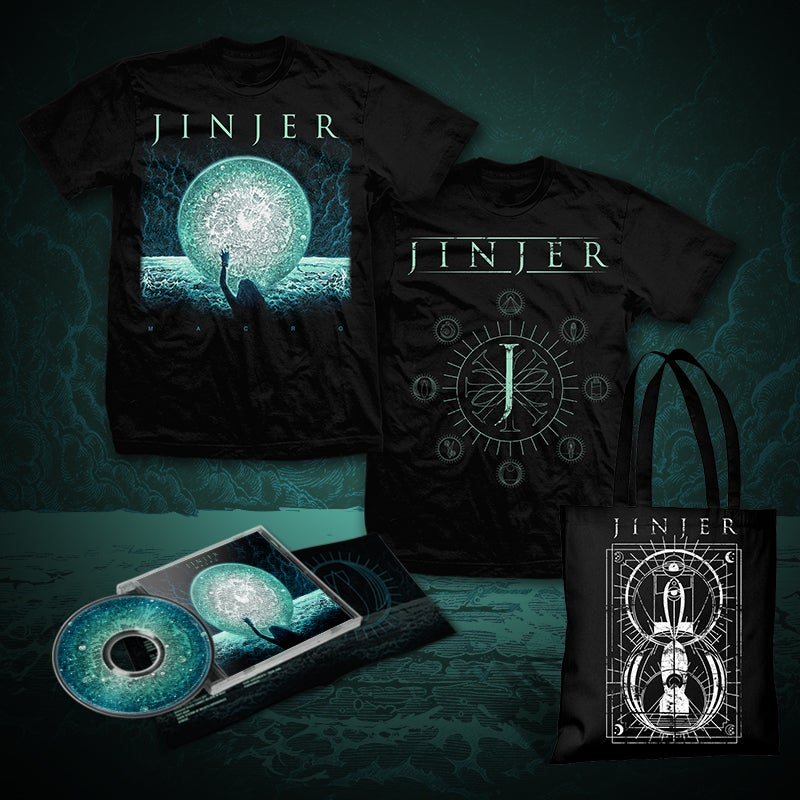 Image of JINJER - Macro - CD Bundle THREE (2019) *PRE-ORDER*