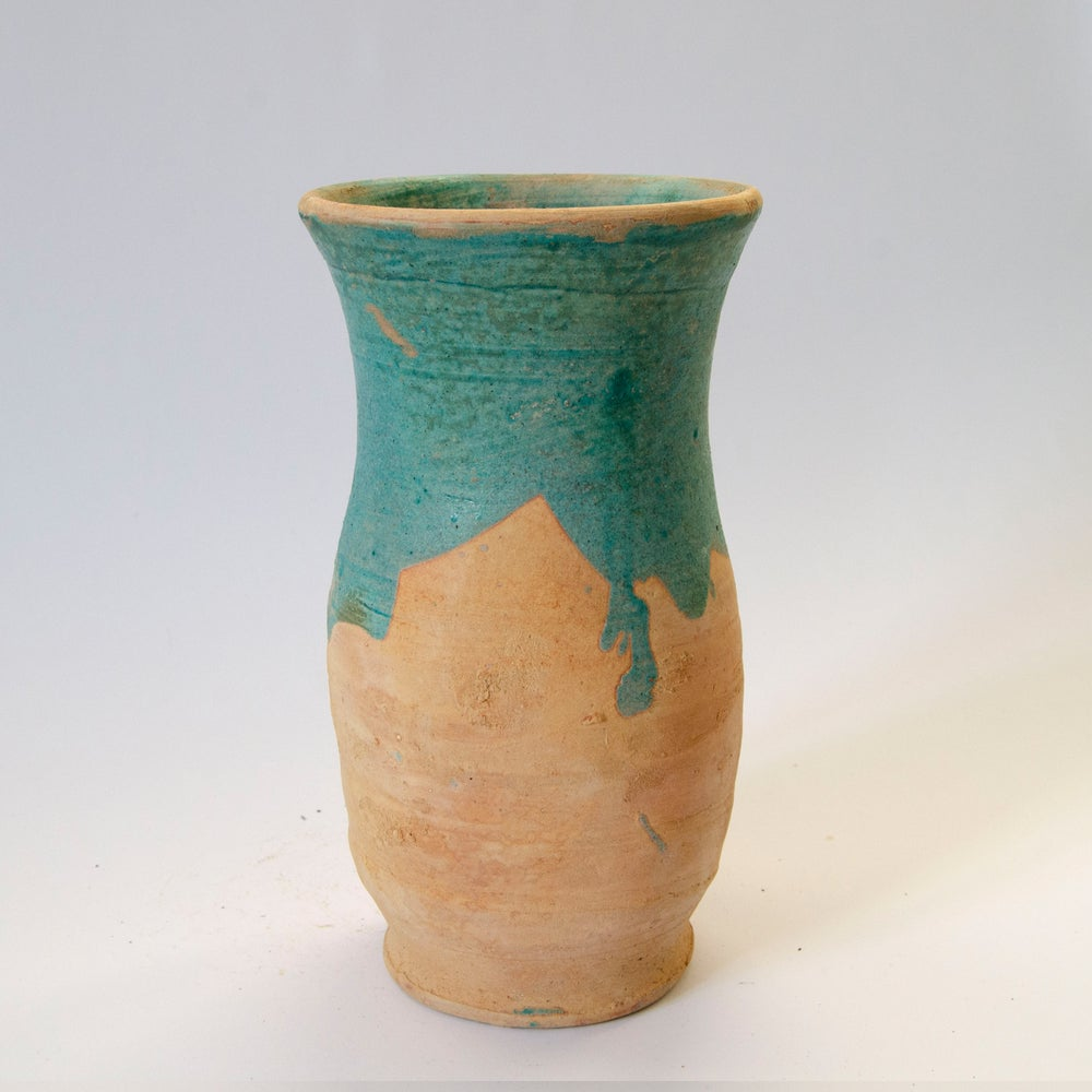 Image of old Vase - blue
