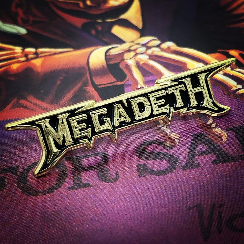Image of Megadeth Logo Enamel Pin