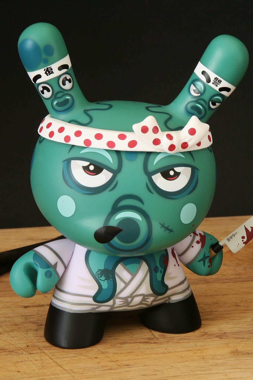 Image of TAKO'S REVENGE - turquoise