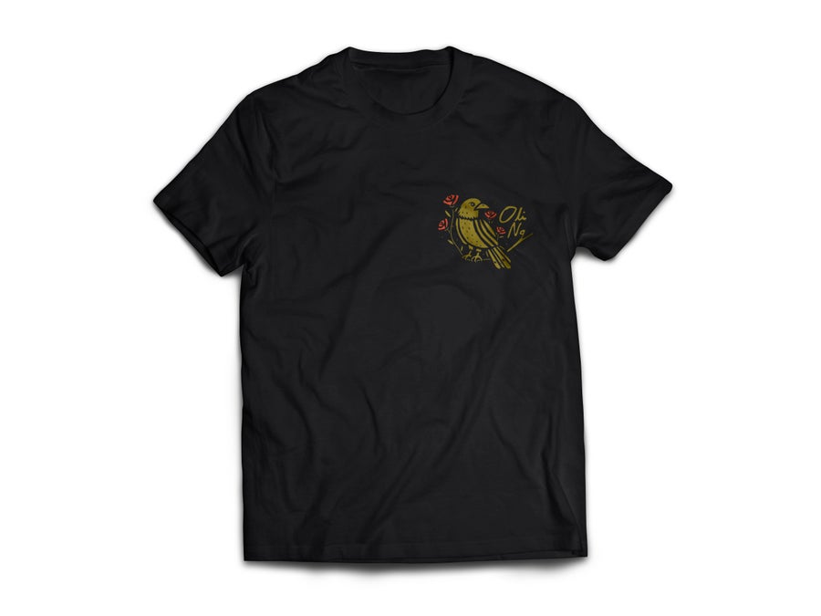 Image of BIRD SHIRT - BLACK