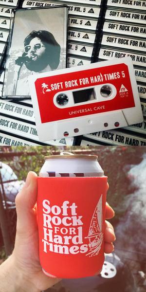 Image of Soft Rock For Hard Times Vol 5 + Koozie