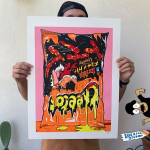 Image of OOFALANDIA NOW screenprint