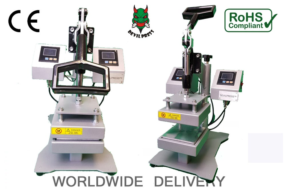 Image of DEVIL PRESS™ DP1500M  12CM X 12CM MANUAL ROSIN PRESS