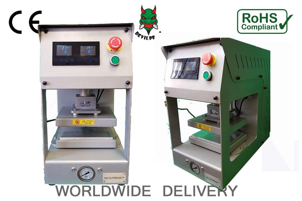 Image of DEVIL PRESS™ S10 20 TON  Pressure Rosin Press All Electric No Compressor Needed