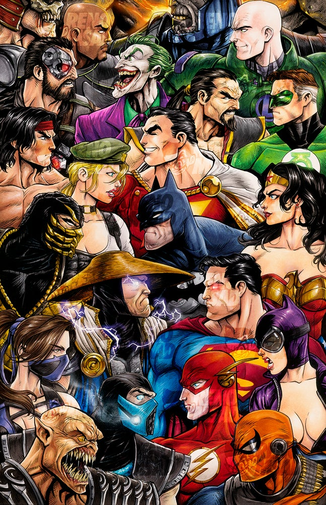 Image of MORTAL KOMBAT VS DC