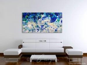 Image of 'Foveo undas' - 152x76cm