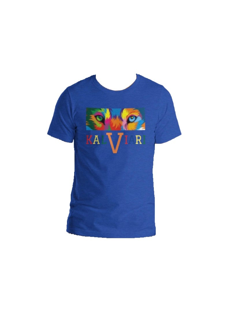 Image of KALVIARI UNIVERSITY KALEIDOSCOPE VISION TSHIRT (UNISEX) 12 COLORS AVAILABLE