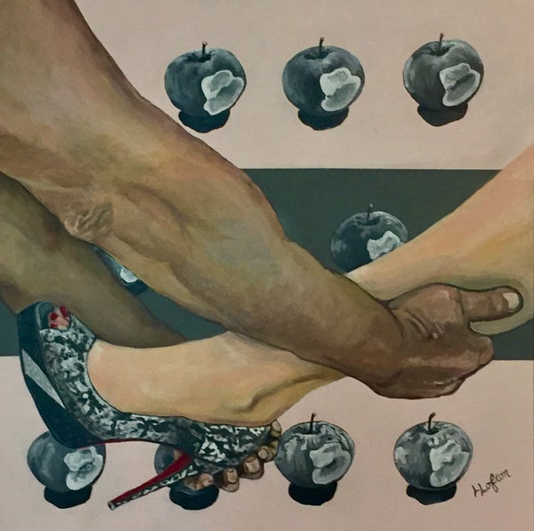 Image of LL016 There's No Business Like Shoe Business - Original Acrylic