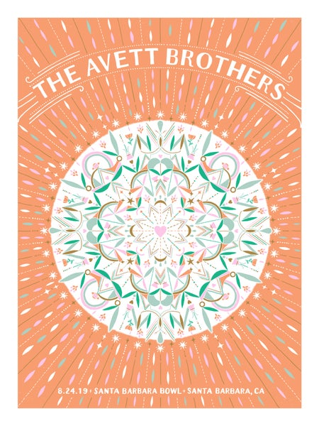Image of The Avett Brothers Santa Barbara 8.24.2019