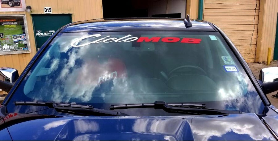 Image of CieloMob Windshield Sticker