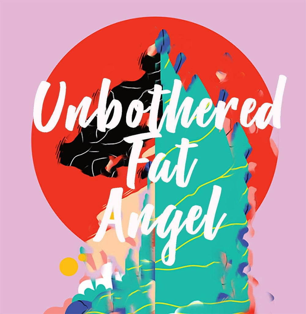 Image of Unbothered Fat Angel Print